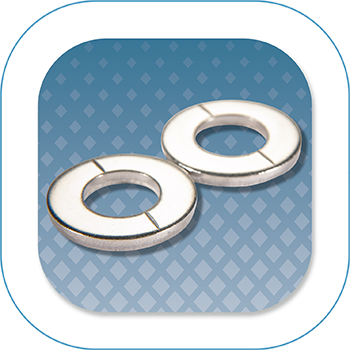 RediVac® vented flat washers
