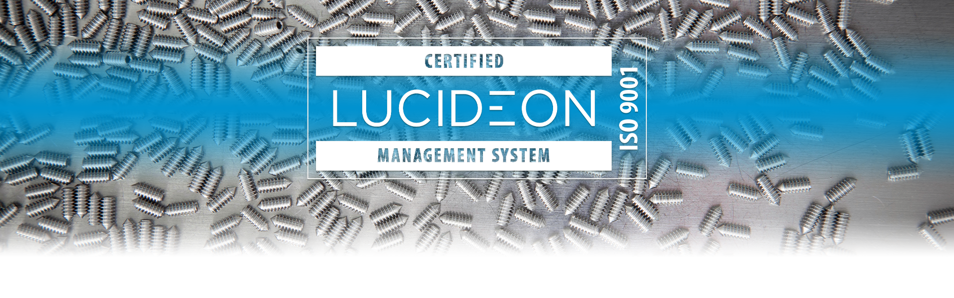 Lucideon ISO 9001 Certified