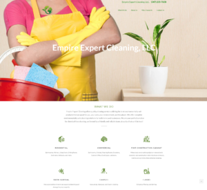 New Client Website Launch – Empire Expert Cleaning LLC