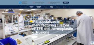 New Client Website Launch – International Polymer Engineering (IPE)